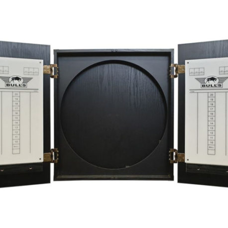 Bull's Deluxe Wooden Cabinet Black binnenkant