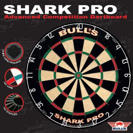 Bull's Shark Pro Dartbord voorkant verpakking