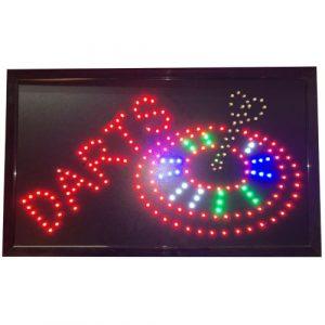 Darts LED Board 55×33 cm
