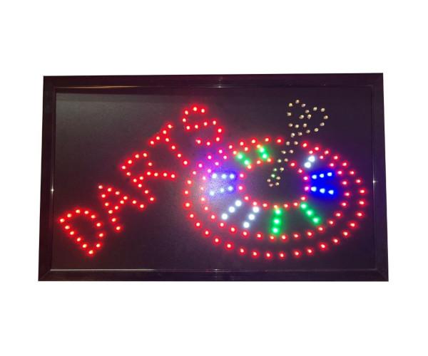 Darts LED Board 55x33 cm