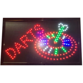 Darts LED Board 55x33 cm