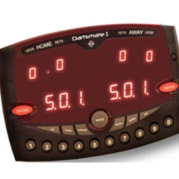 Dartsmate 3 elektronisch scorebord