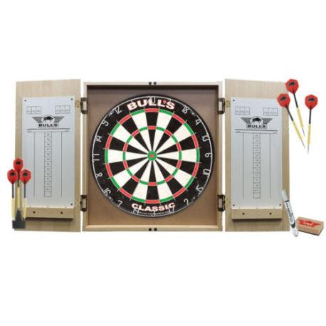 Deluxe Cabinet Dartboard Set