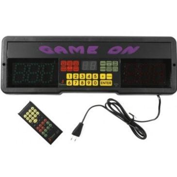 Game On Scorebord + Afstandsbediening