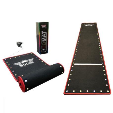 Bull's Darts LED Mat 300×60 cm line