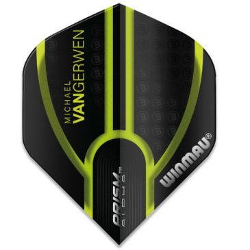 Michael van Gerwen Prism Alpha Black Green Flight