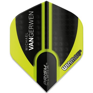 Michael van Gerwen Prism Alpha Black Wings Flight