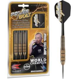 Power-Bolt Brass Taylor 22 dartpijlen