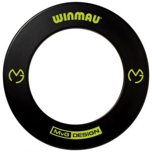Michael van Gerwen Edition Black Rubber Surround