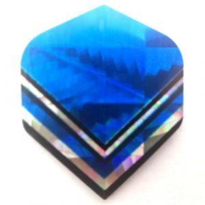Blue hologram V flight