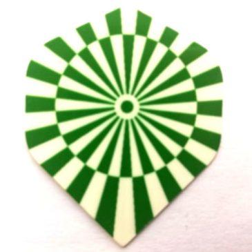 Circle Green White flight
