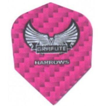 Harrows Graflite Pink flight