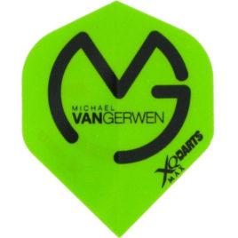 Xqmax Michael van Gerwen Green Black Flight
