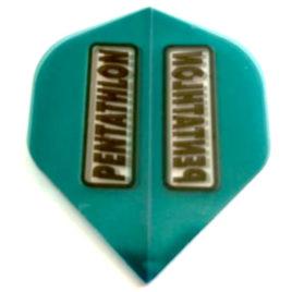 Pentathlon Blue Green Clear flight