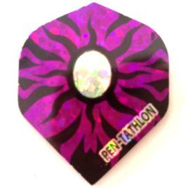Pentathlon Hologram Purple flight