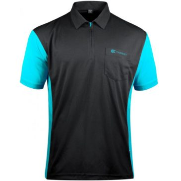 Coolplay 3 Hybrid Black Aqua Blue dartshirt