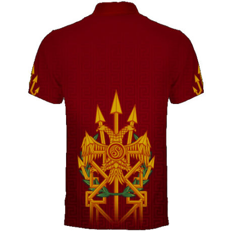 Shot Roman Empire Dart Shirt achterkant