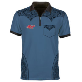 Shot Wild Frontier Darts Shirt