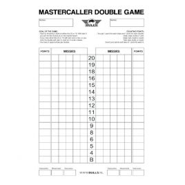 Mastercaller Double Game Scoreboard Flex 45x30