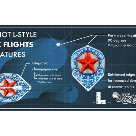 Shot L-Style Mandala Std. flight uitleg