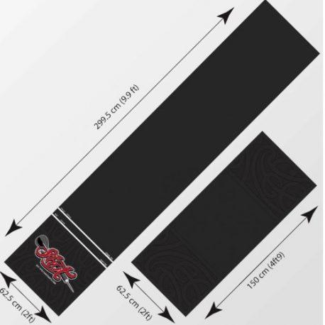 Shot T-Mat Floor Protection 300×60 cm afmetingen