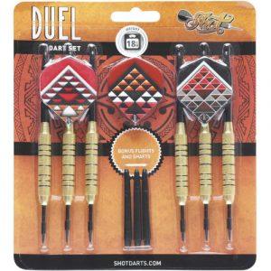 Duel Brass Steeltip 18g Value Range dartpijlen