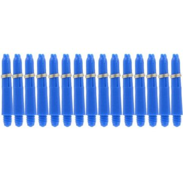 Nylon + Ring Blue Shaft 5-pack x-short