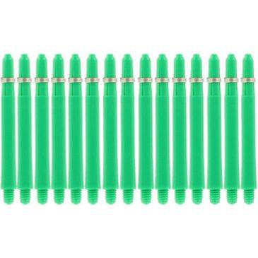 Nylon + Ring Green Shaft 5-pack Medium