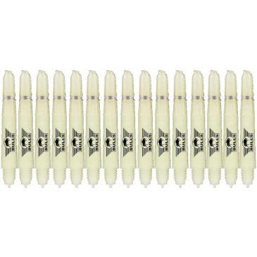 Nylon + Ring Natural Shaft 5-pack short
