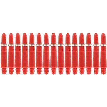 Nylon + Ring Red Shaft 5-pack x-short