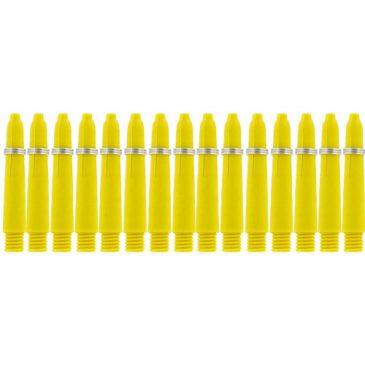 Nylon + Ring Yellow Shaft 5-pack X-short