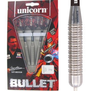 Bullet Gary Anderson P1 Stainless Steel dartpijl
