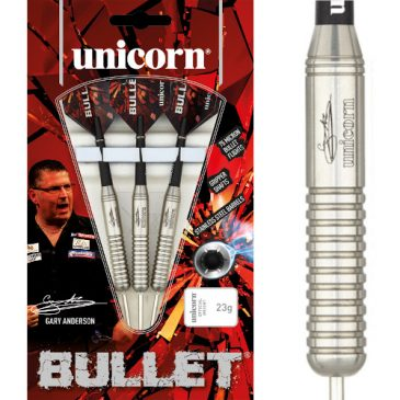 Bullet Gary Anderson P2 Stainless Steel dartpijl