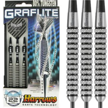 Harrows Graflite 85% dartpijl