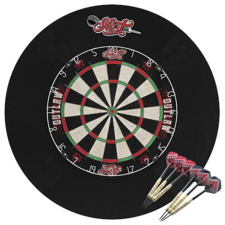 Shot Outlaw Tournament Dartboard Set