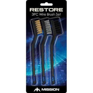 Restore Brush Cleaning Kit 3 Brushes Mission