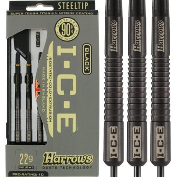 Harrows Ice Black 90% 22 gram dartpijl