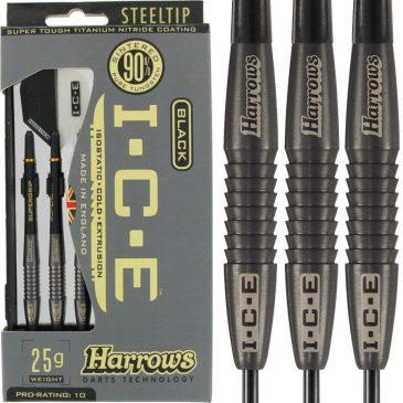 Harrows Ice Black 90% 25 gram dartpijl