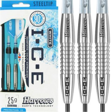 Harrows Ice White 90% 25 gram dartpijl