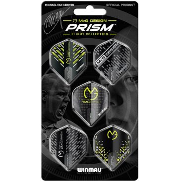 MvG Prism 2 Michael van Gerwen 5-Pack Flights
