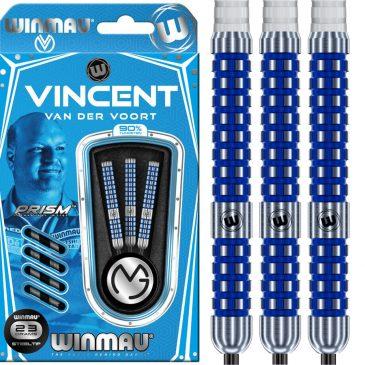 Winmau Vincent van der Voort 90% Blue dartpijl