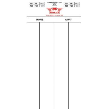 Bull's Darttel Flex 501 60x30 cm.