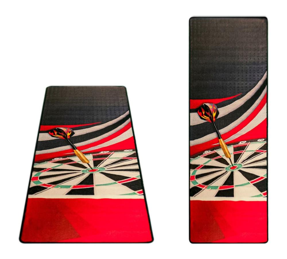 Carpet Dartmat McKicks Red 300x65cm