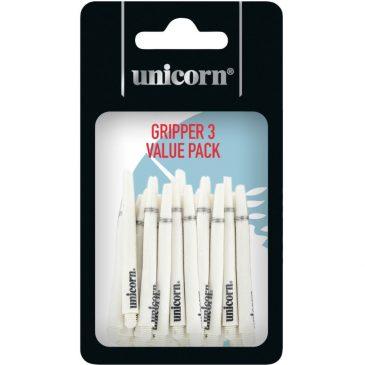 Gripper 3 Medium White 5-pack shaft