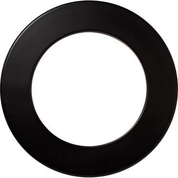 Surround Dartbord black plain