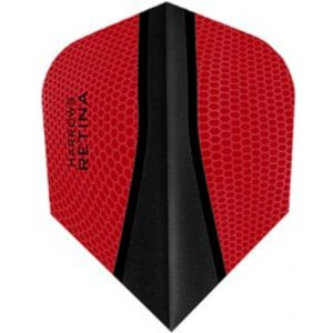 Harrows Retina Std.6 Black Red flight