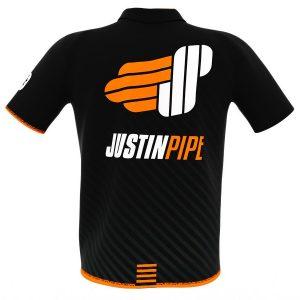 Justin Pipe Matchshirt Black